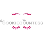 Unicorn Lashes Cookie Stencil