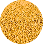Metallic Gold Non-Pareils 5.1oz