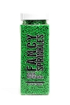 Fancy Sprinkles- Bright Green Crunchy Jimmies 4oz