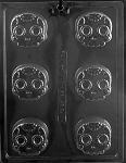 Candy Skull Chocolate Oreo Mold