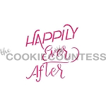 Happy Ever After Cookie Stencil