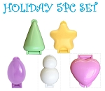 Cake Pop Mold Holiday Set 5 PCS