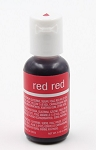 Chefmaster Liqua Gel 0.70oz : Red Red