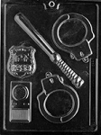 Police Kit Chocolate Mold