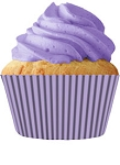 Lavender Standard Cupcake Liners 30 Count