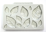 Leaf Assortment Silicone Mold