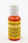 Chefmaster Liqua Gel 0.70oz : Lemon Yellow