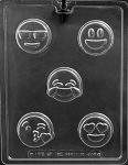 Emoji Oreo Chocolate Mold