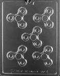Fidget Spinner Chocolate Mold