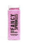 Fancy Sprinkles- Pastel Pink Crunchy Jimmies 4oz
