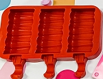 Scalloped Popsicle Mold 3 Pieces