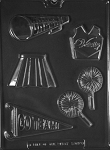 Cheerleading Kit Chocolate Mold