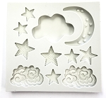 Star & Moon Silicone Mold