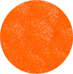 Sunset Orange Luster Dust
