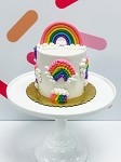 Rainbow  Cake DIY Cake Kit