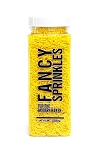 Fancy Sprinkles- Yellow Crunchy Jimmies 8oz
