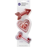 Wilton Valentine's Day Cookie Cutter Set