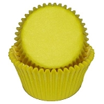 MINI Yellow Cupcake Liners 100 Count