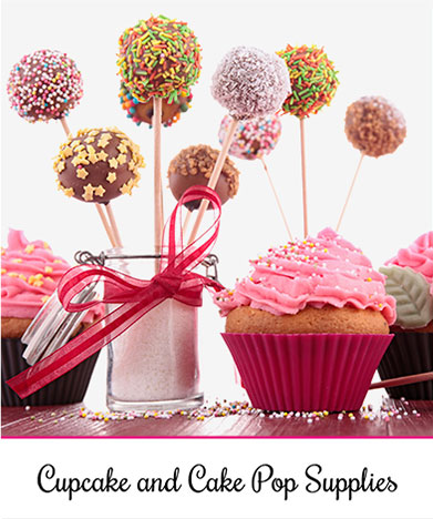Cupcakes & Cakepop Supplies