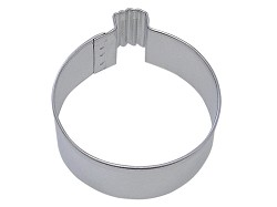 Round Ornament Cookie Cutter 4""