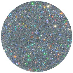 Silver Rainbow Disco Dust