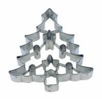 Embossed Tree Cookie Cutter 3 1/2""