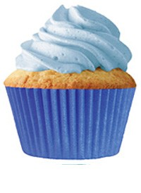 Blue Standard Cupcake Liners 30 Count
