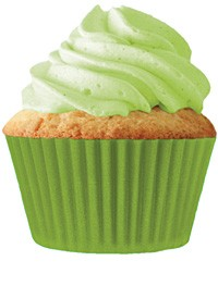 Lime Green Standard Cupcake 30 Count Liners