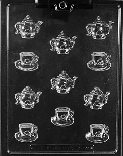 Tea Pot / Cup Chocolate Mold