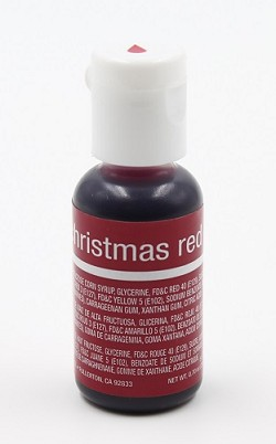 Chefmaster Liqua Gel 0.70oz : Christmas Red