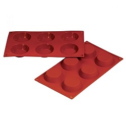 Mini Flan Silicone Baking Mold