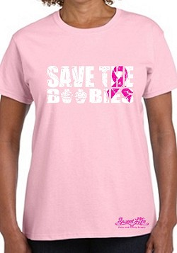 Save The Boobies Breast Cancer Awareness Shirt