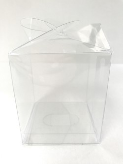 Clear Candy Apple Box 5pk