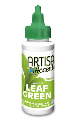 Leaf Green Artisan Accents Gel Color