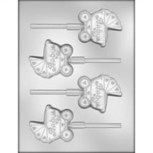 Baby Carriage Sucker Chocolate Mold