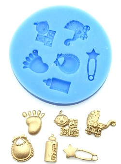 Baby Assortment Silicone Mold
