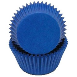 MINI Blue Cupcake Liners 100 Count