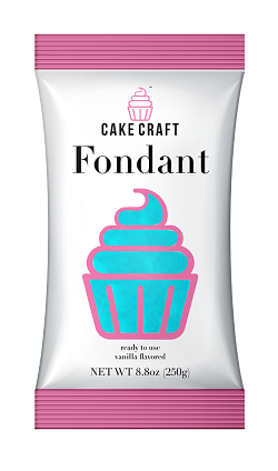 Sky Blue Cake Craft Fondant 8.8oz
