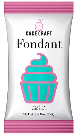 Pure Teal Cake Craft Fondant 8.8oz