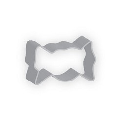 Candy Wrapper Cookie Cutter  3.25""