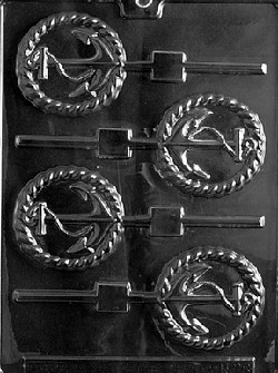 Anchor Sucker  Chocolate Mold