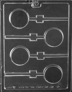 Plain Cookie Lolly Mold