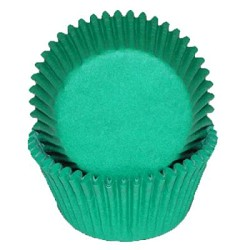MINI Green Cupcake Liners 100 Count