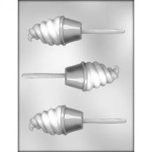 Ice Cream Cone Sucker Chocolate Mold