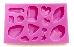 Jewel Silicone Mold