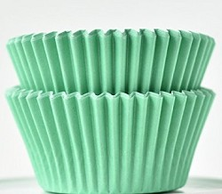 Mint Standard Cupcake Liners 30 Count