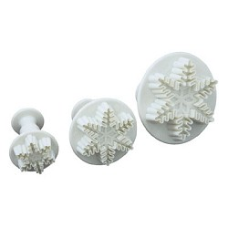 PME Snowflake Plunger/ Cutter Set