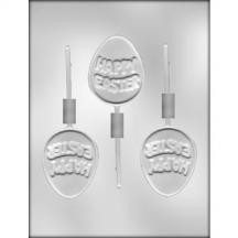Easter Egg Sucker Chocolate Mold