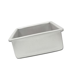 "8"" X 4"" Square Fat Daddio's Cake Pan"