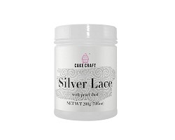 Silver Cake Lace